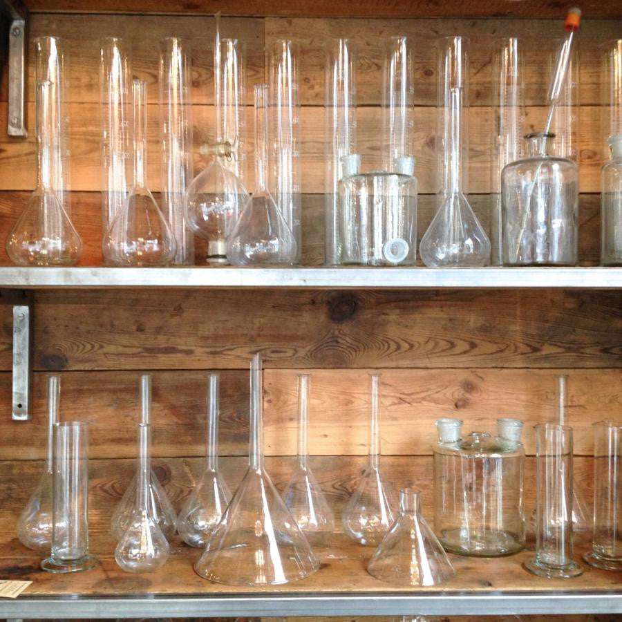 Vintage Chemistry Glassware | The Architectural Forum