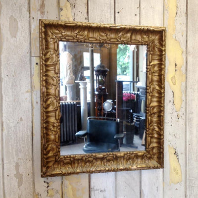 Gilt framed mirror
