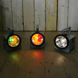 Vintage London Underground Signal Lights