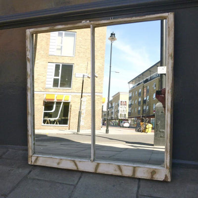 Antique Sash Window Mirror - architectural-forum