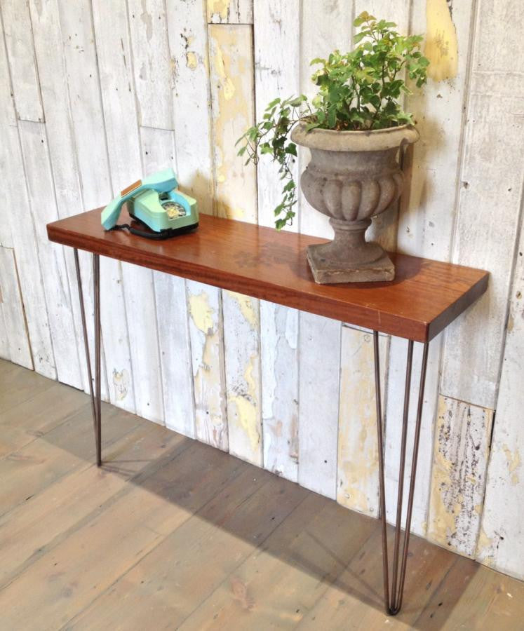 Teak Console Table | The Architectural Forum