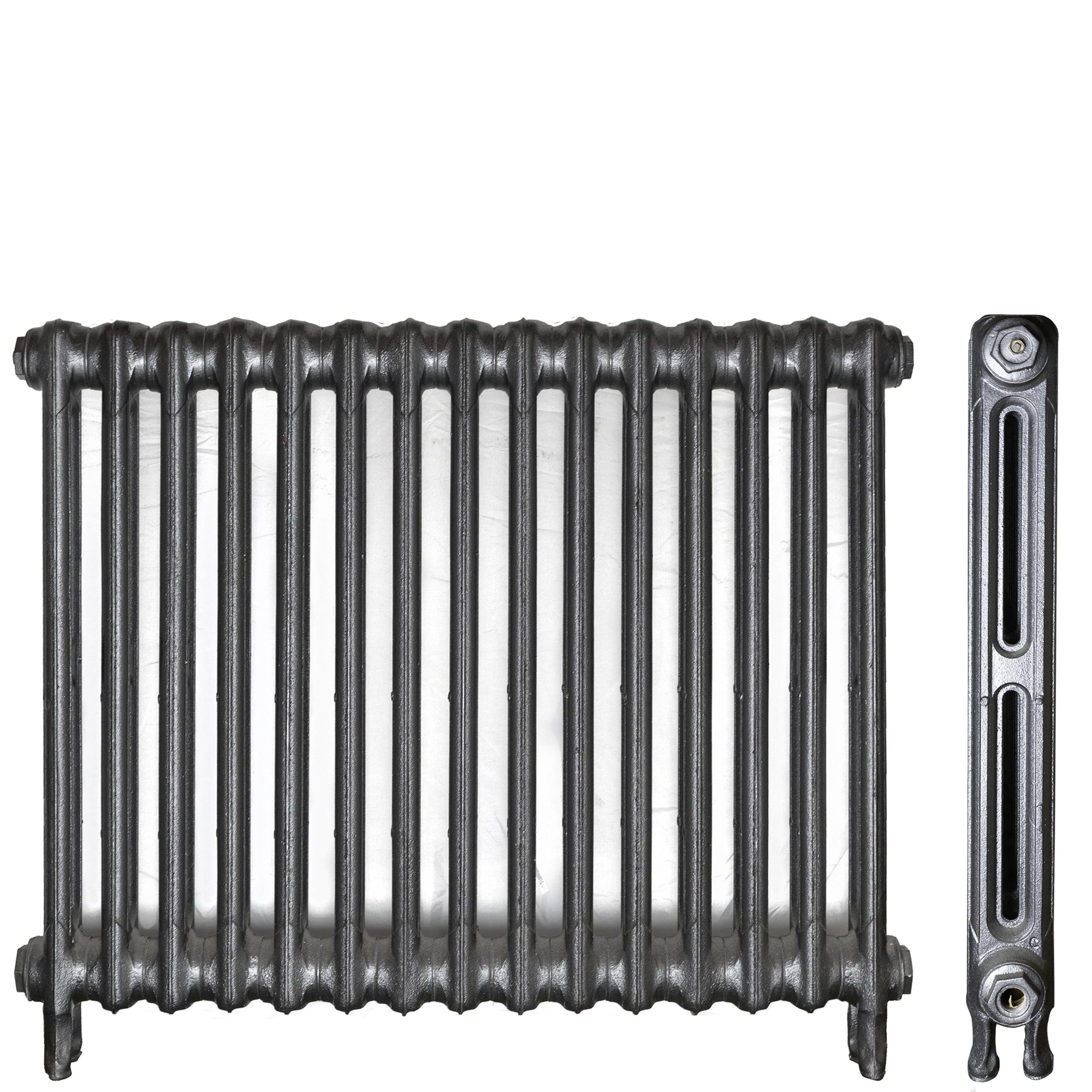 Fully Restored Cast Iron Two Column Radiator | The Architectural Forum