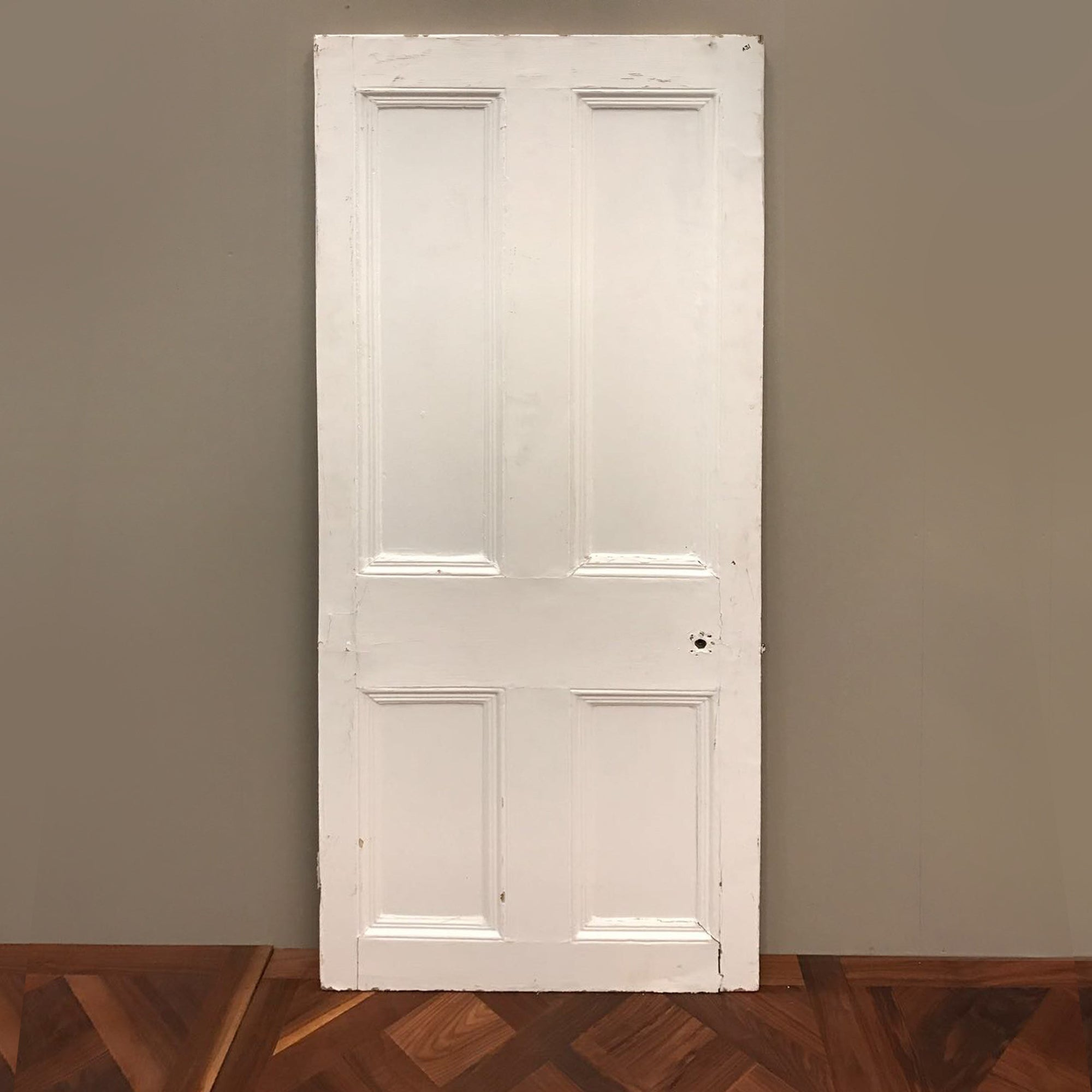 Victorian Four Panel Internal Door 193cm x 76cm - architectural-forum