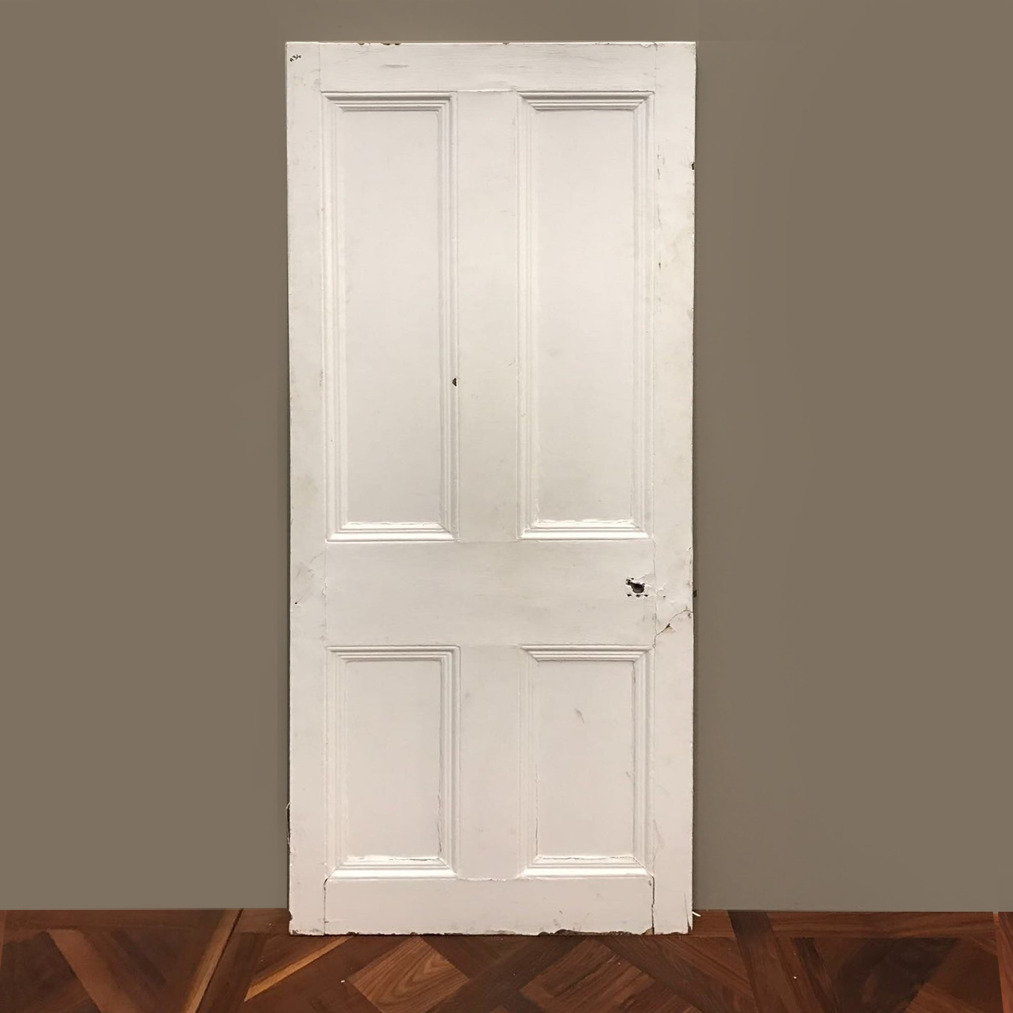 Victorian Four Panel Door - 195cm x 75.5cm - architectural-forum