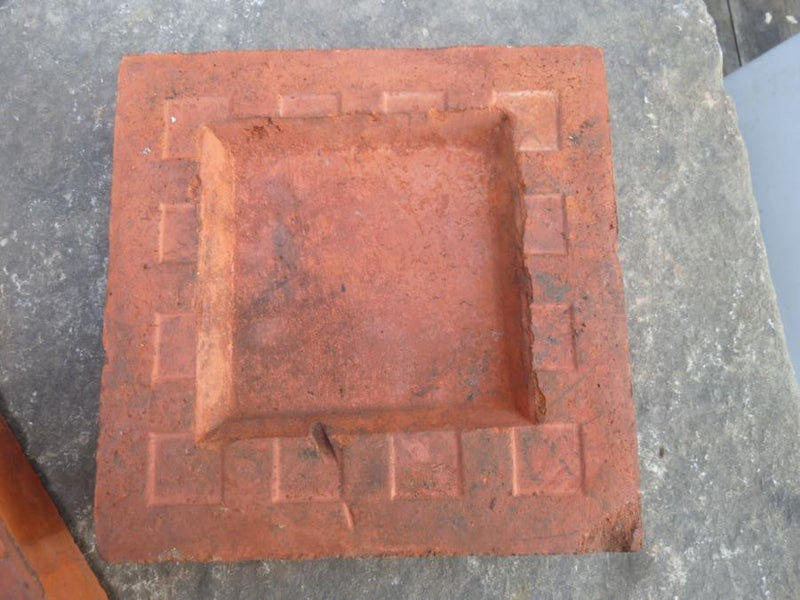 Antique decorative bricks