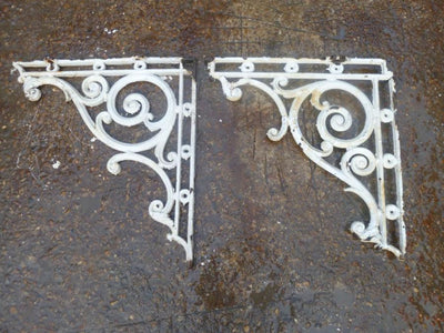 Antique Iron Brackets - architectural-forum