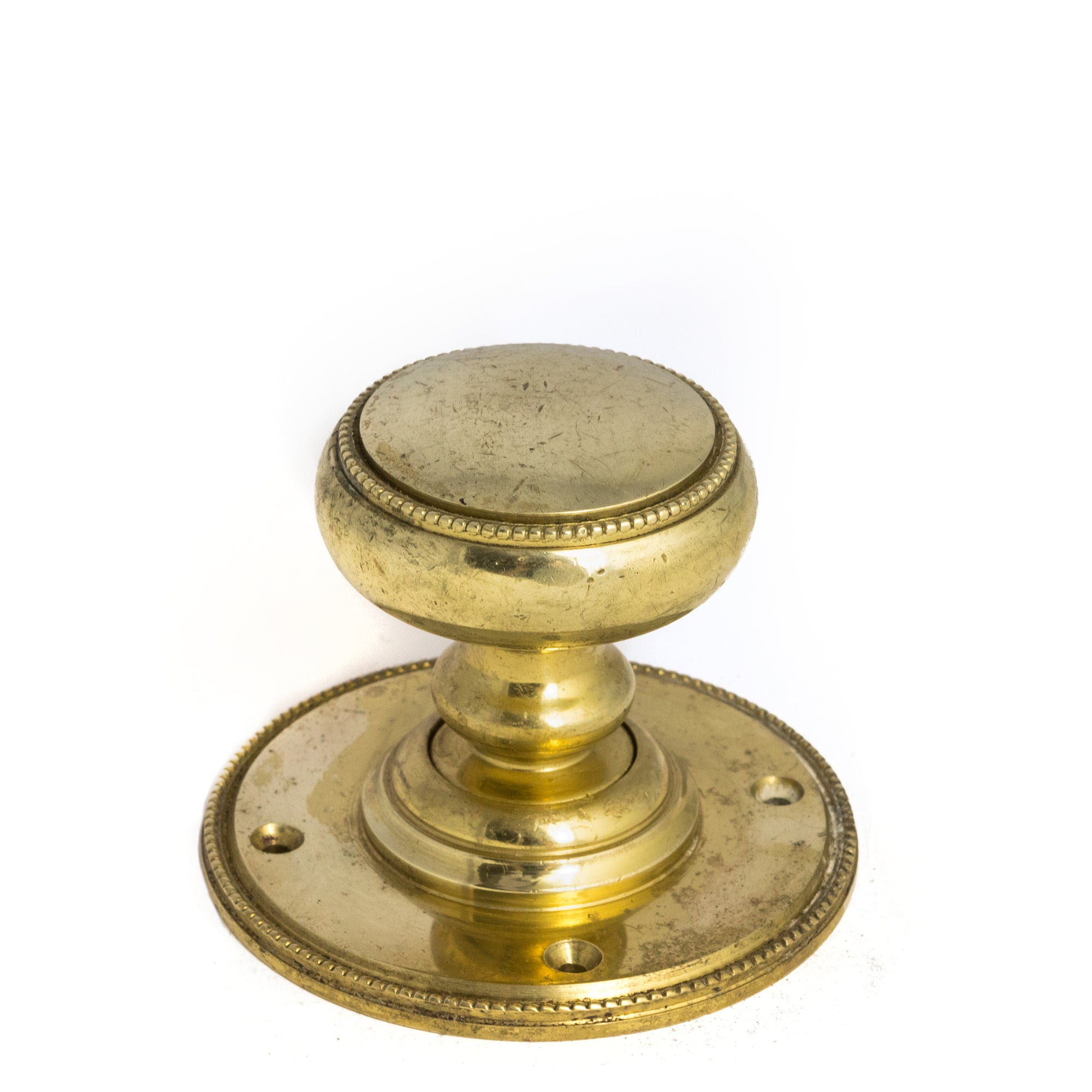 Reclaimed Antique Solid Brass Door Knob