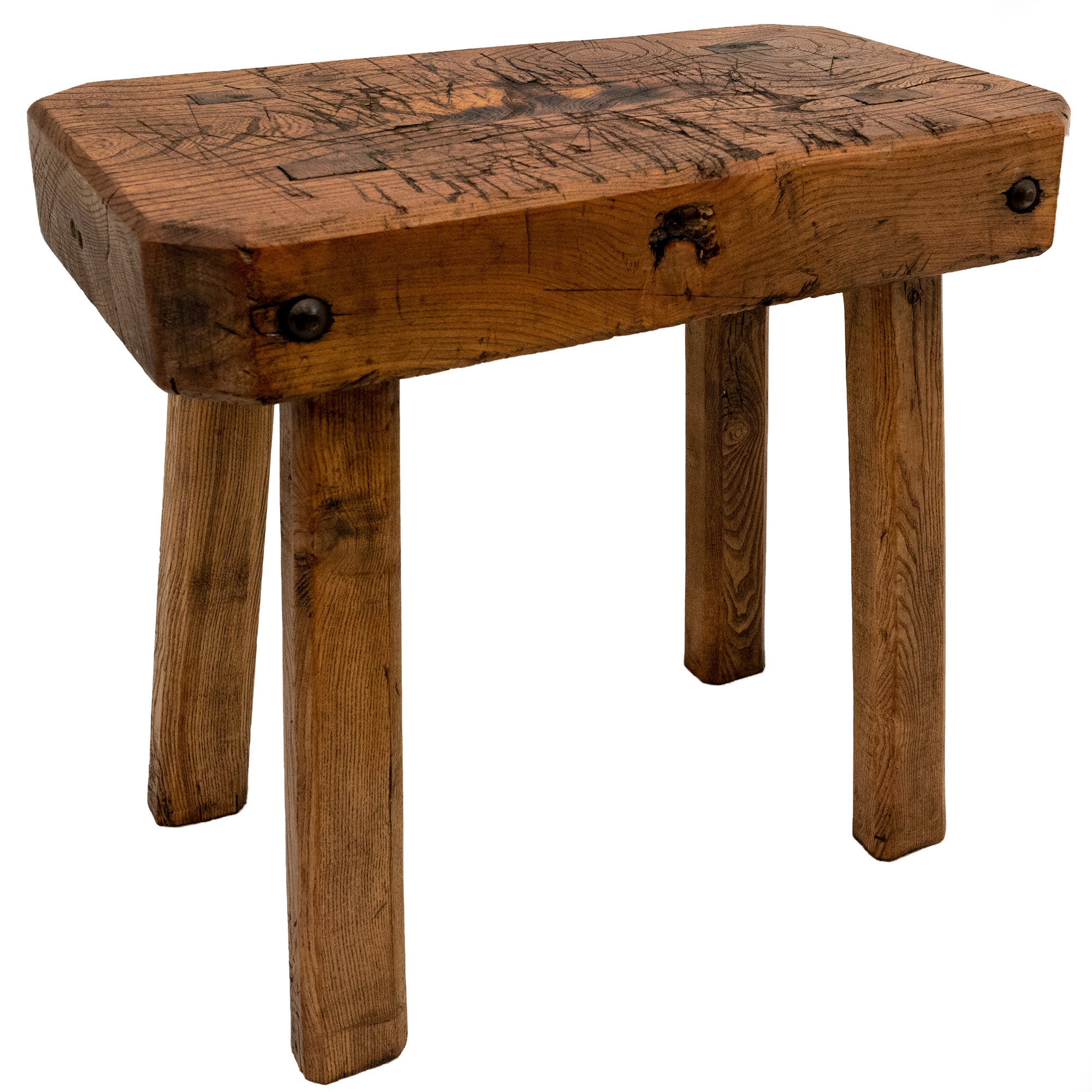 Antique 19th Century Butcher's Block