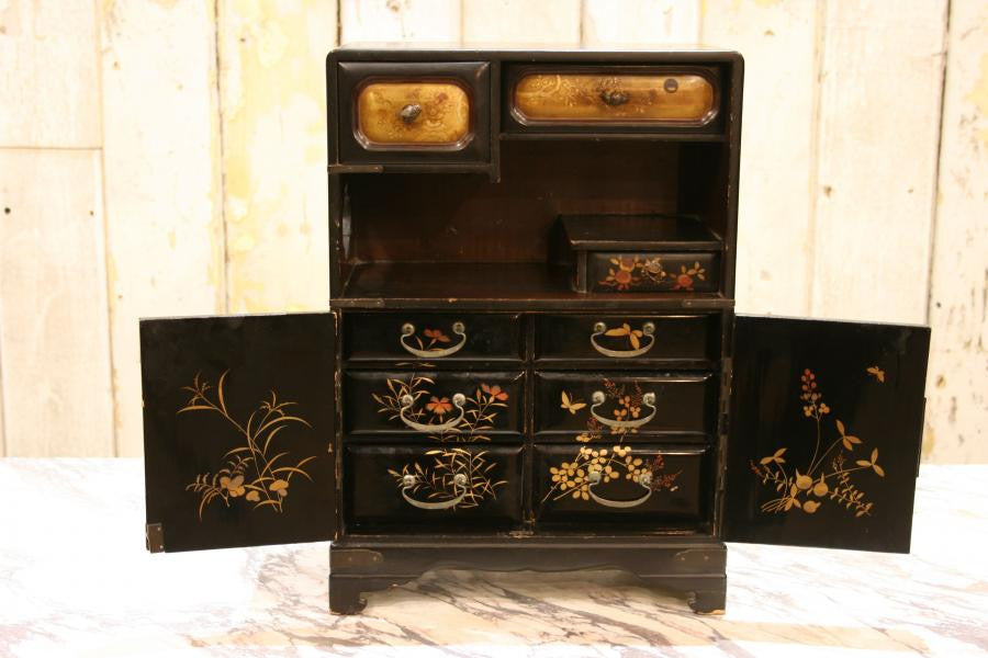 Antique Chinese Miniature Cabinet | The Architectural Forum