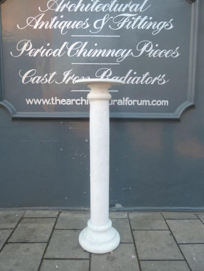 Antique marble column