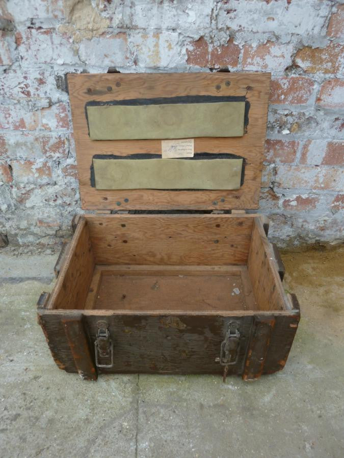 Antique Explosives Box | The Architectural Forum