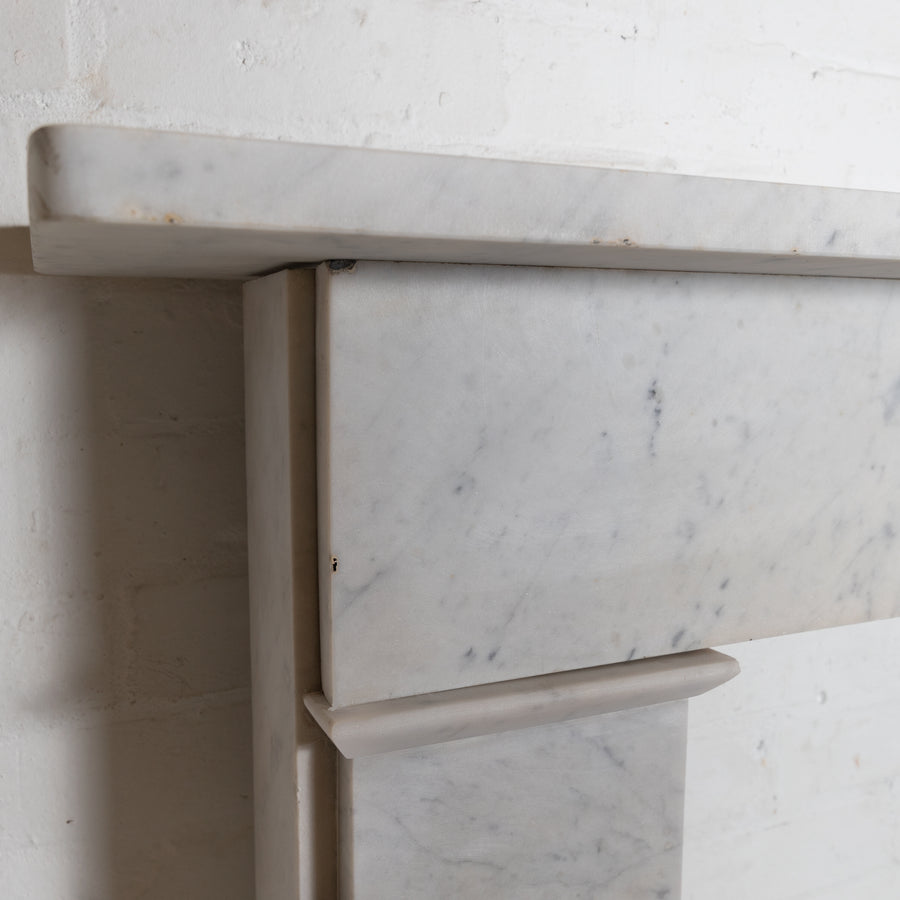 Antique Georgian Carrara Crossover Surround