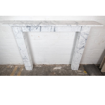 Georgian Style English Pencil Vein Marble Fireplace Surround - The Architectural Forum