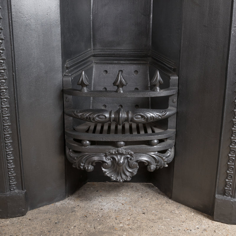 Antique Georgian Cast Iron Fireplace Insert - The Architectural Forum