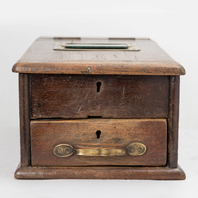 Vintage Wooden Money Register