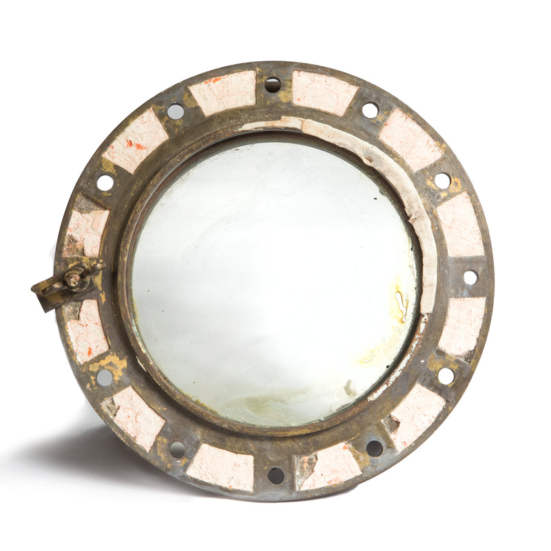 Antique Brass Naval Porthole