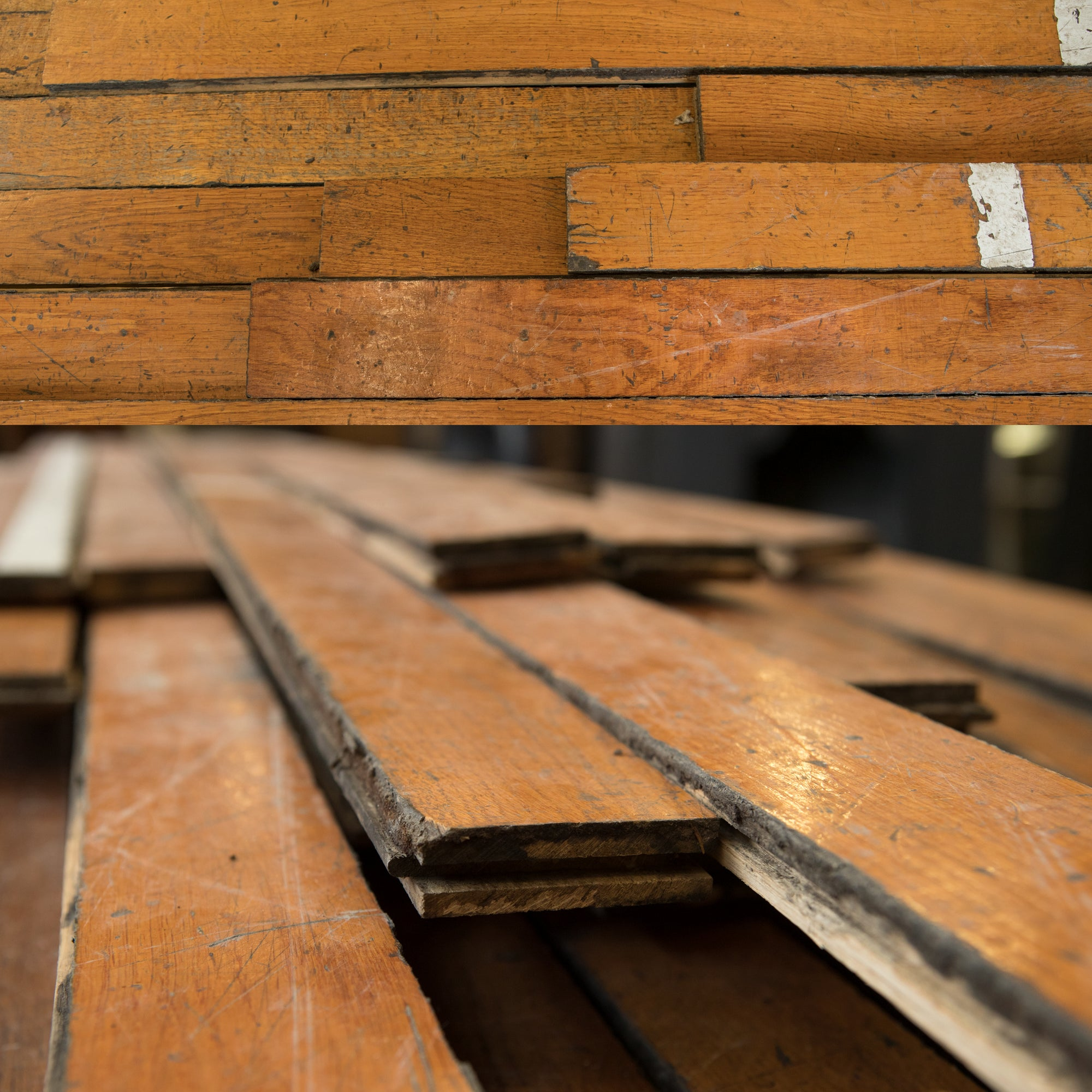 Reclaimed Antique Oak Flooring - 7cm x 2cm