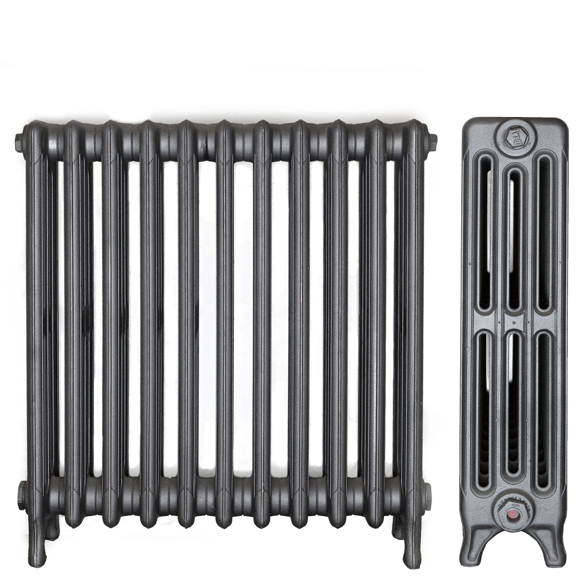 Cast Iron Radiator 4 Column, 11 Section (61.5cm Tall)