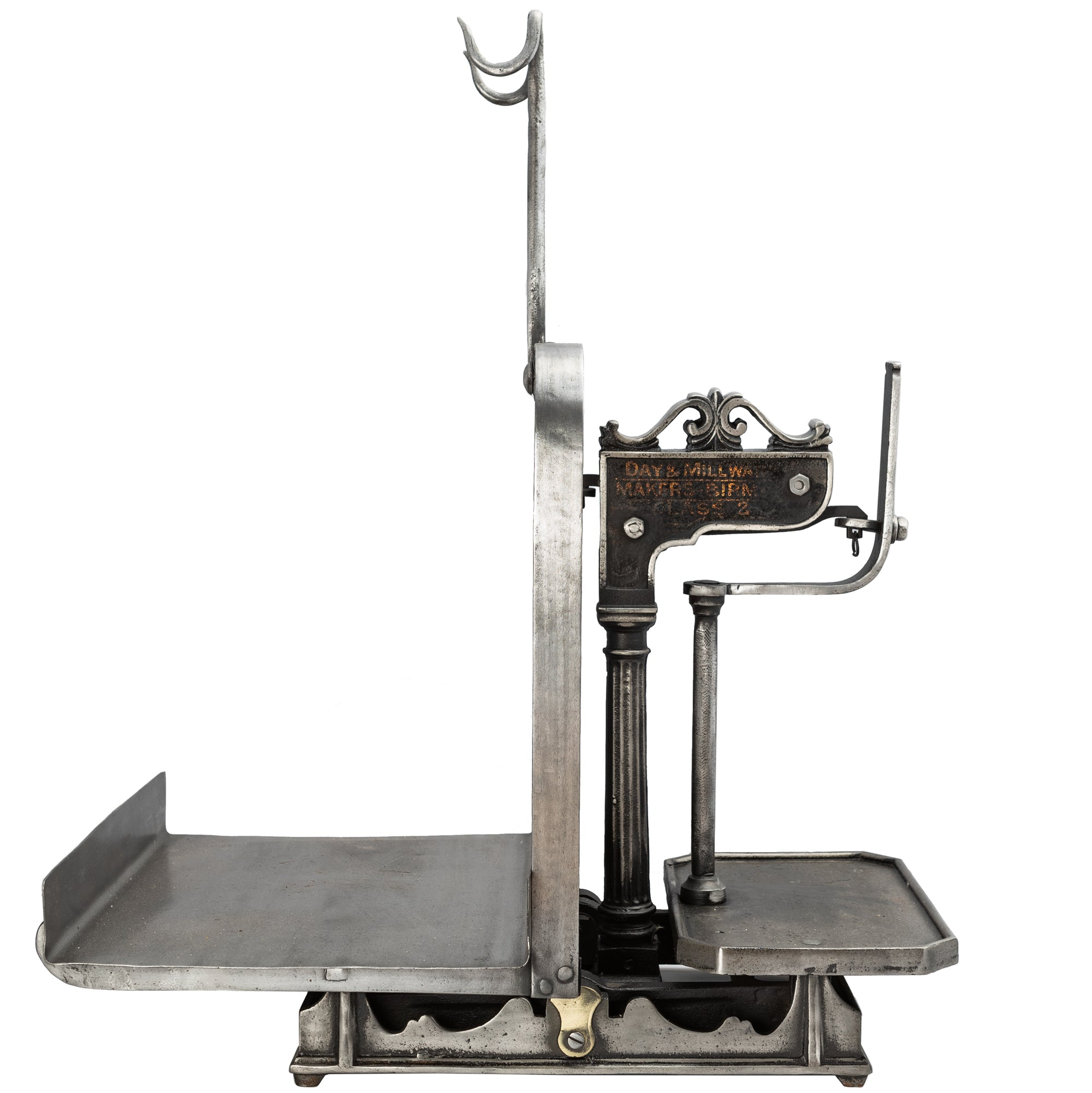 Antique Victorian Cast Iron Scales