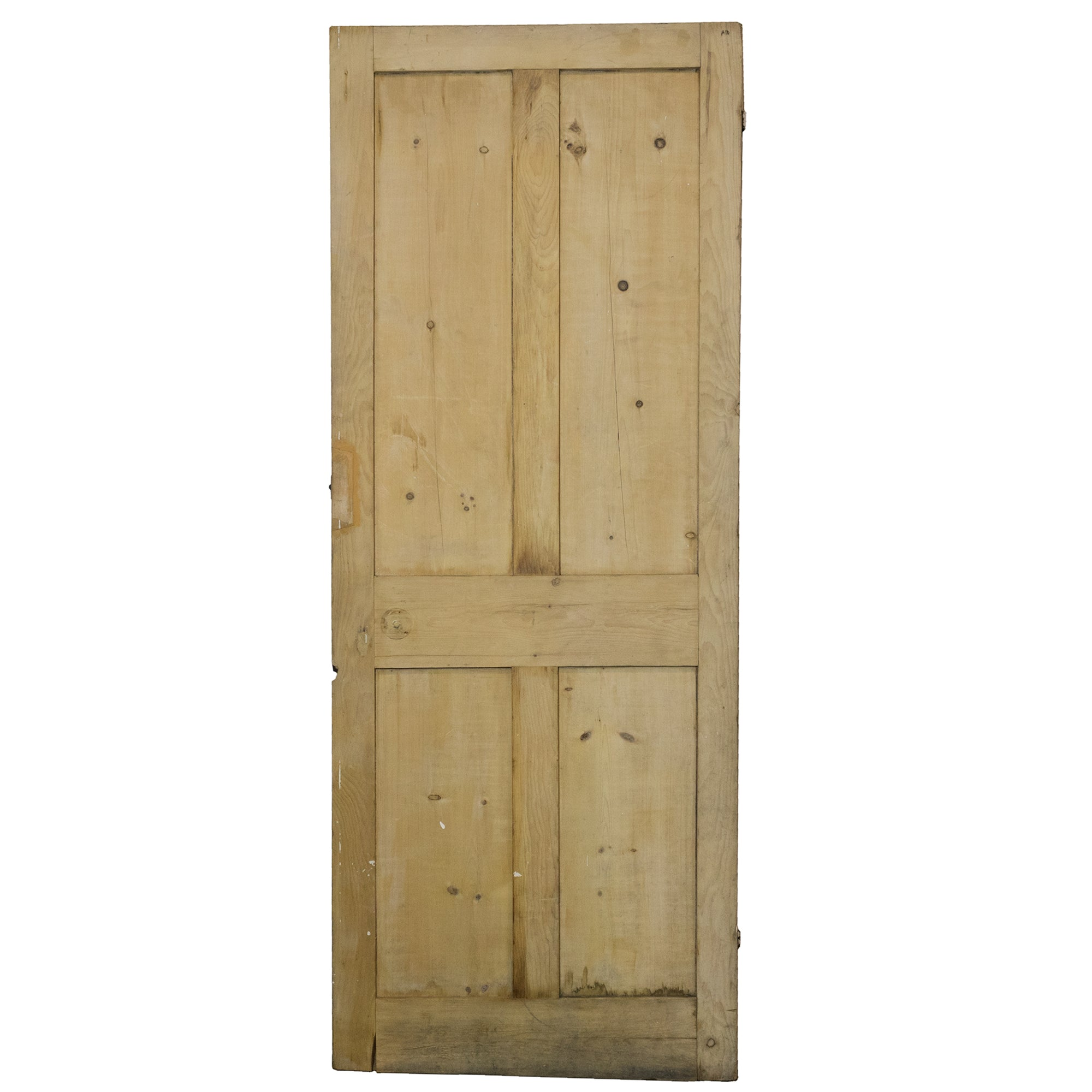 Antique Victorian 4 Panel Door - 195cm x 75cm