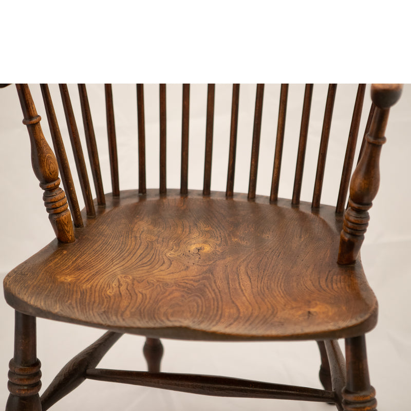 Antique Windsor Chair Made from Elm