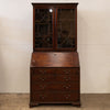 Antique Georgian Regency Mahogany Bureau Desk Glazed Bookcase - The Architectural Forum