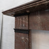 Antique Edwardian Rouge Royal Marble Fireplace Surround - architectural-forum