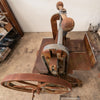 Antique Cast Iron Guillotine Paper Cutter By F.M McNeil & Co - architectural-forum