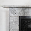 Georgian Style Bullseye Marble Fireplace Surround - architectural-forum