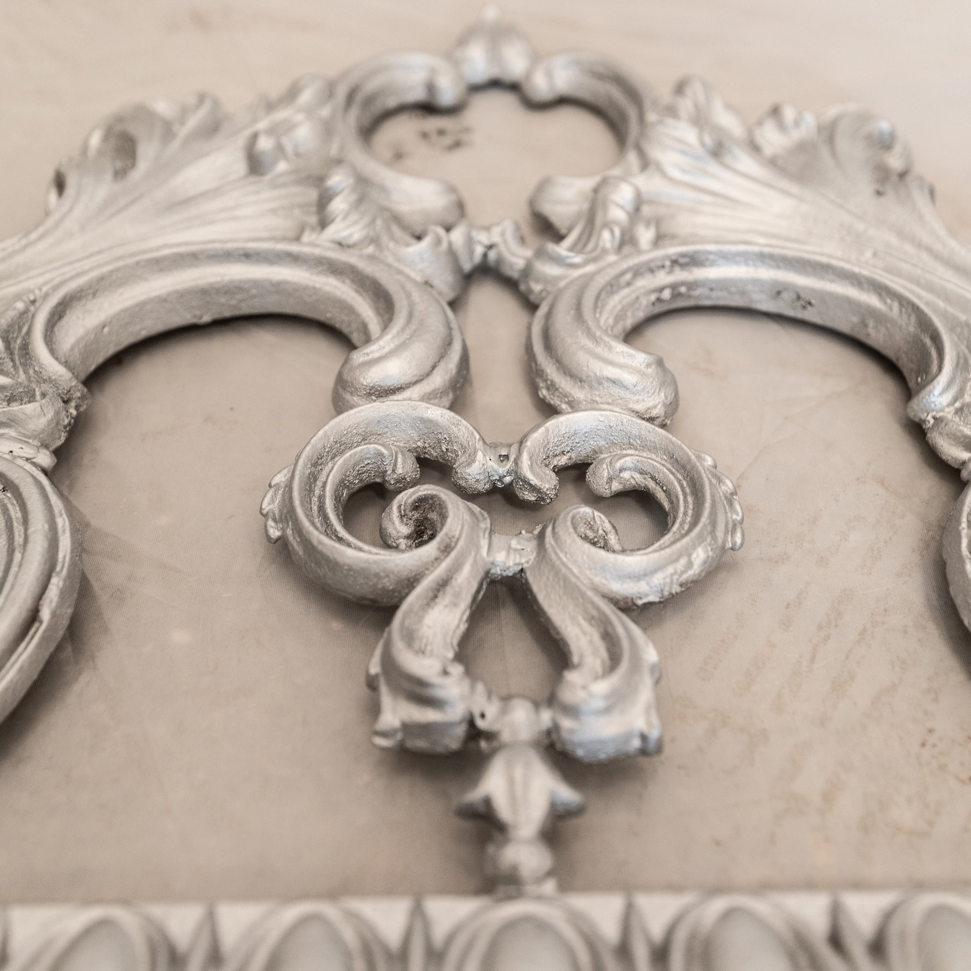 Antique Decorative Cast Iron pot guard | The Architectural Forum