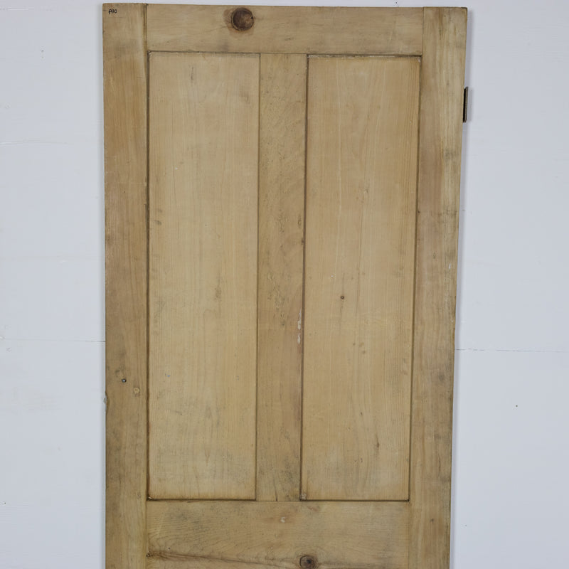 Antique Victorian 4 Panel Door - 185cm x 67cm