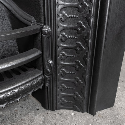 Antique Victorian Cast Iron Arched Insert - The Architectural Forum