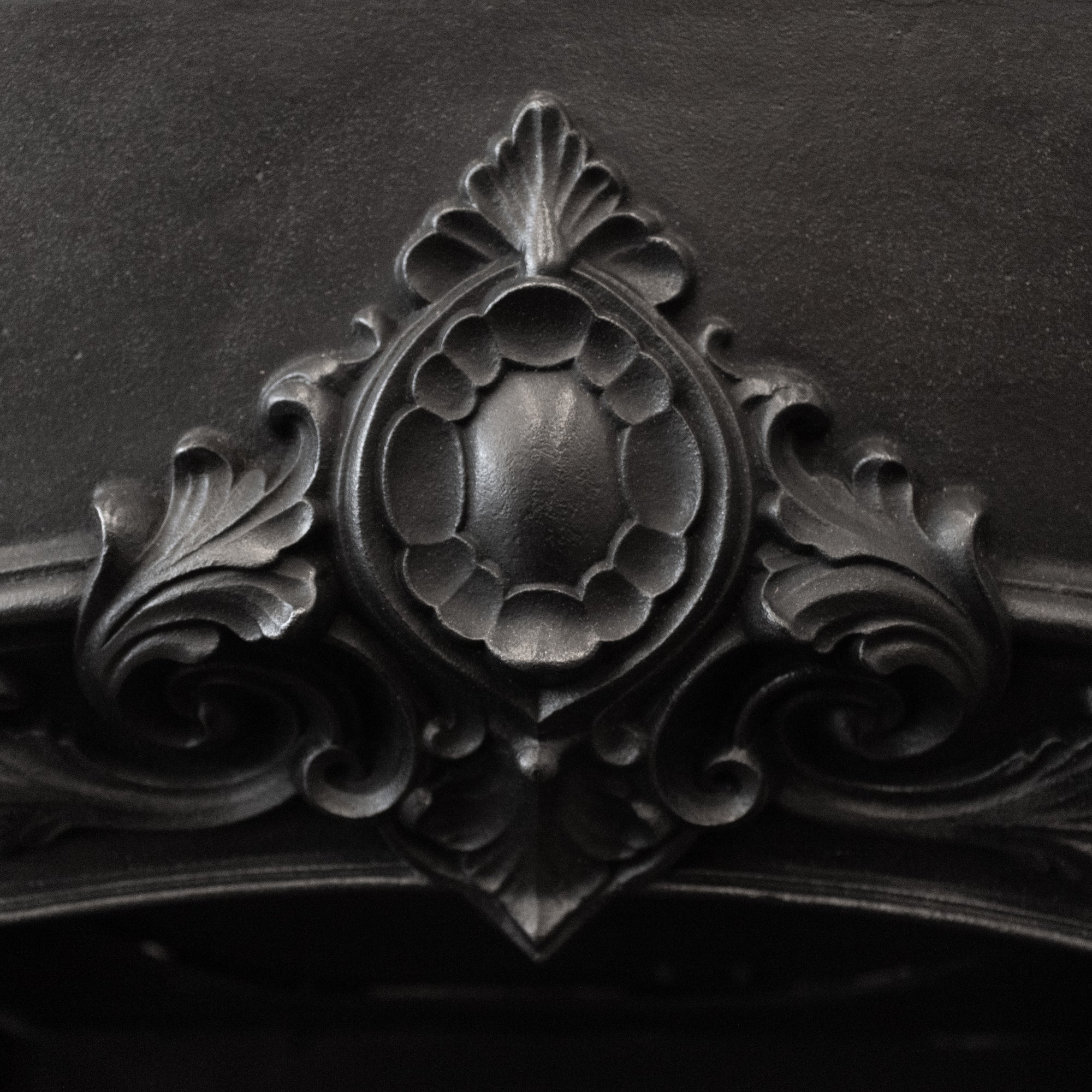 Antique Early Victorian Cast Iron Fireplace Insert | The Architectural Forum