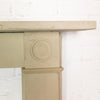 Antique Georgian Sandstone Bullseye Fireplace Surround - architectural-forum
