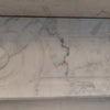 Antique Edwardian Carrara Marble Fireplace Surround - architectural-forum