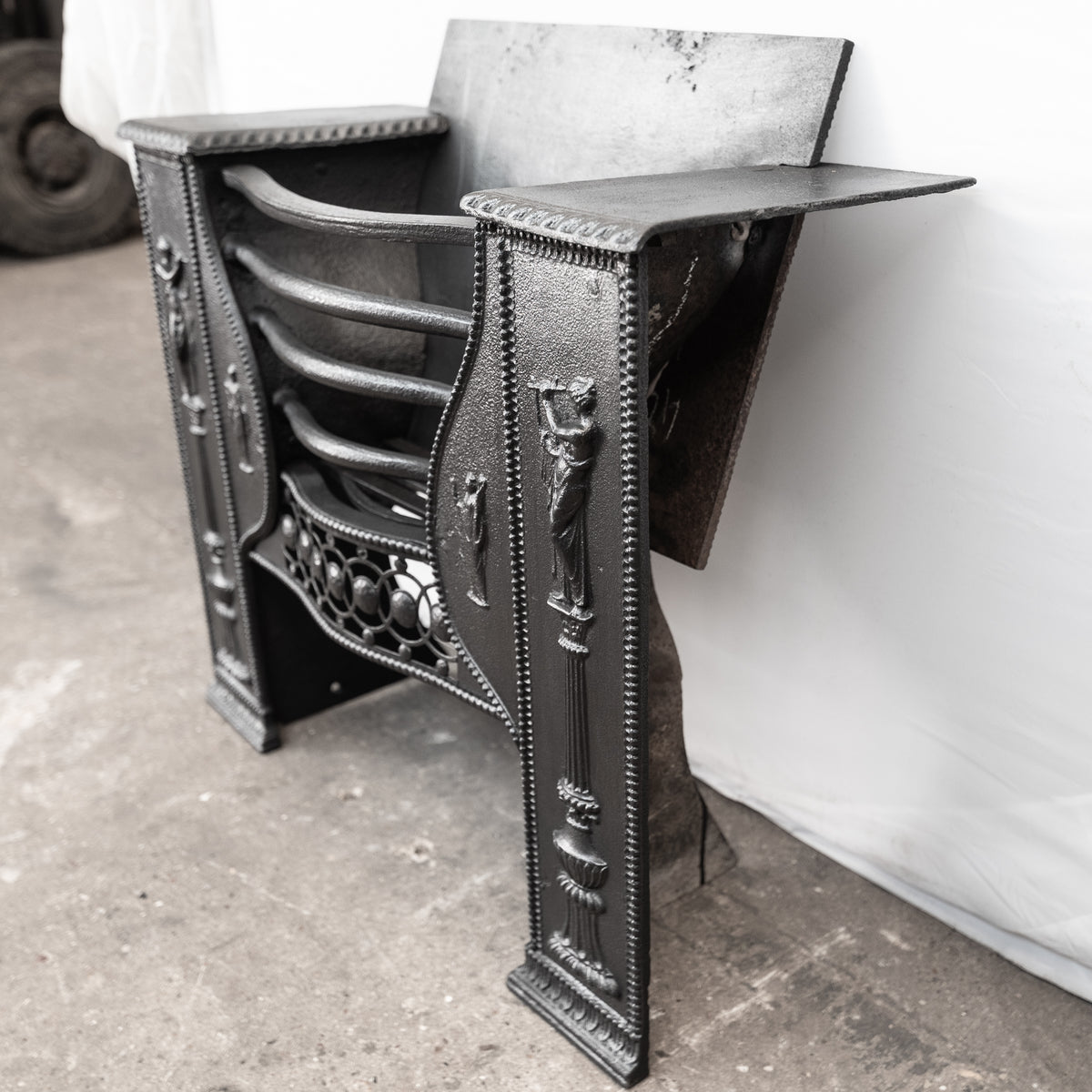 Antique Late Georgian Hob Grate In The Manner of Robert Adam | The Architectural Forum