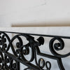 Antique Georgian Wrought Iron and Marble Radiator Cover | Console Table