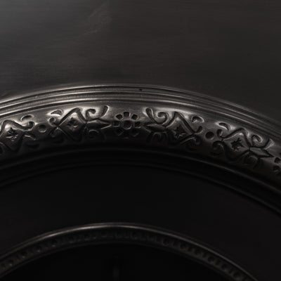 Victorian Style Cast Iron Arched Insert - architectural-forum