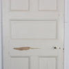 Antique Victorian Five Panel Door - 210.5cm x 86.5cm