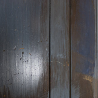 Antique Reclaimed Teak Four Panel Door - 197cm x 68cm x 3.5cm