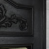 Antique Art Nouveau Tiled Combination Fireplace