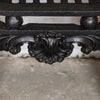 Antique Early Victorian Cast Iron Arched Insert