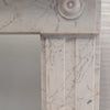 Antique Georgian Carrara Bullseye Fireplace Surround - architectural-forum