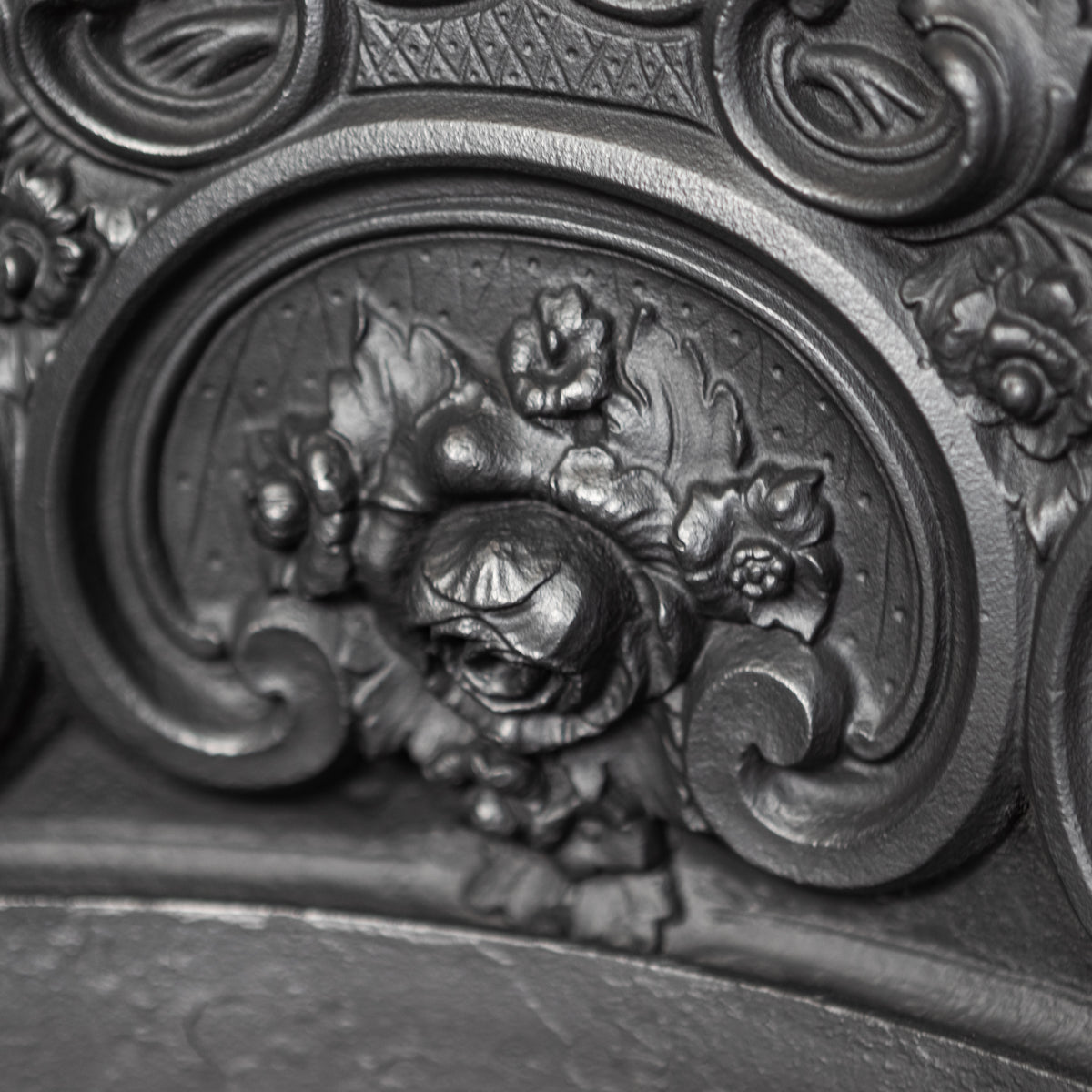 Rare Antique Ornate Victorian Fireplace Insert | The Architectural Forum
