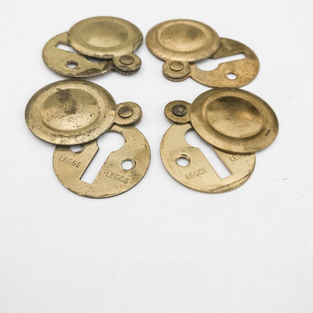 Reclaimed Brass Escutcheons | The Architectural Forum