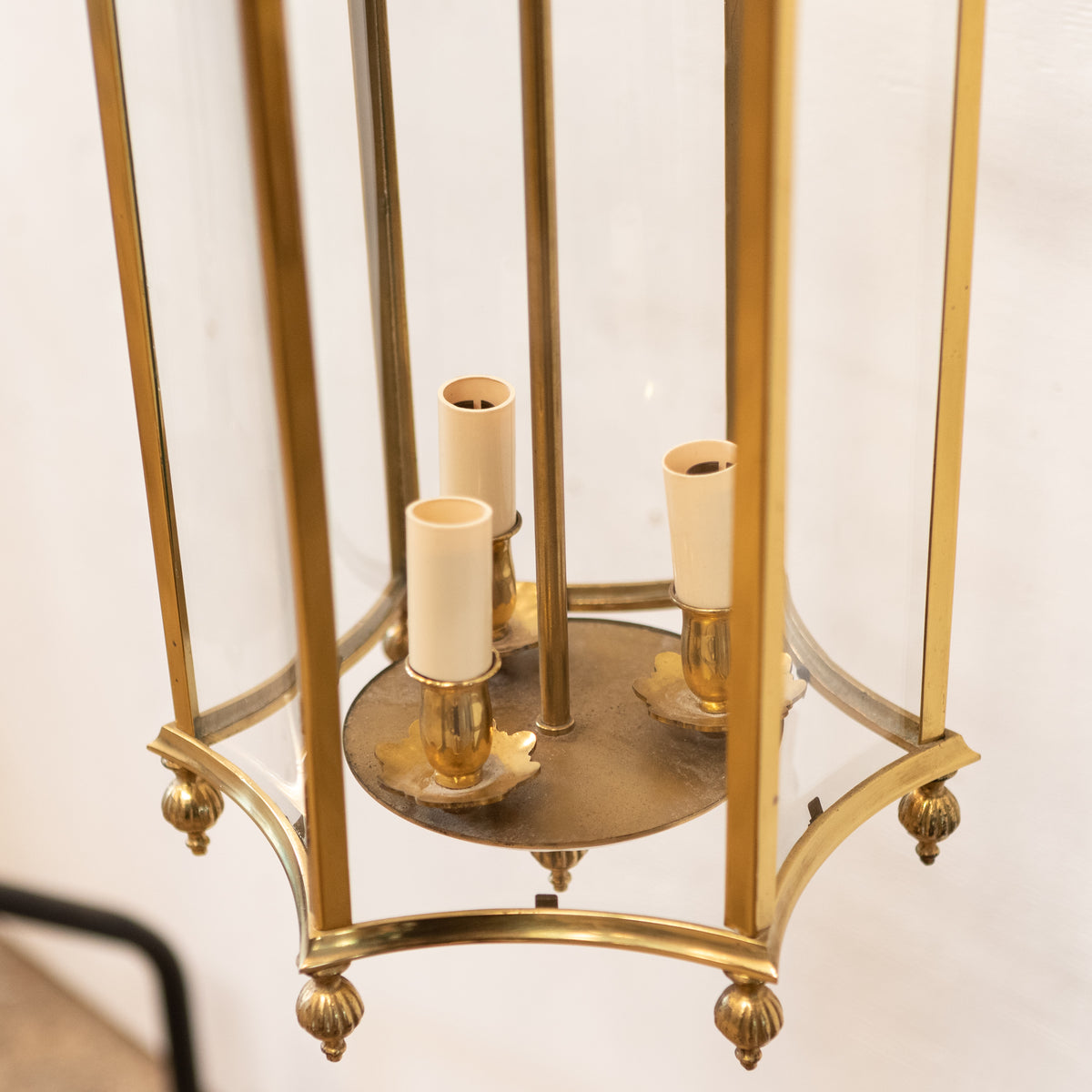 Reclaimed Brass Lantern | The Architectural Forum
