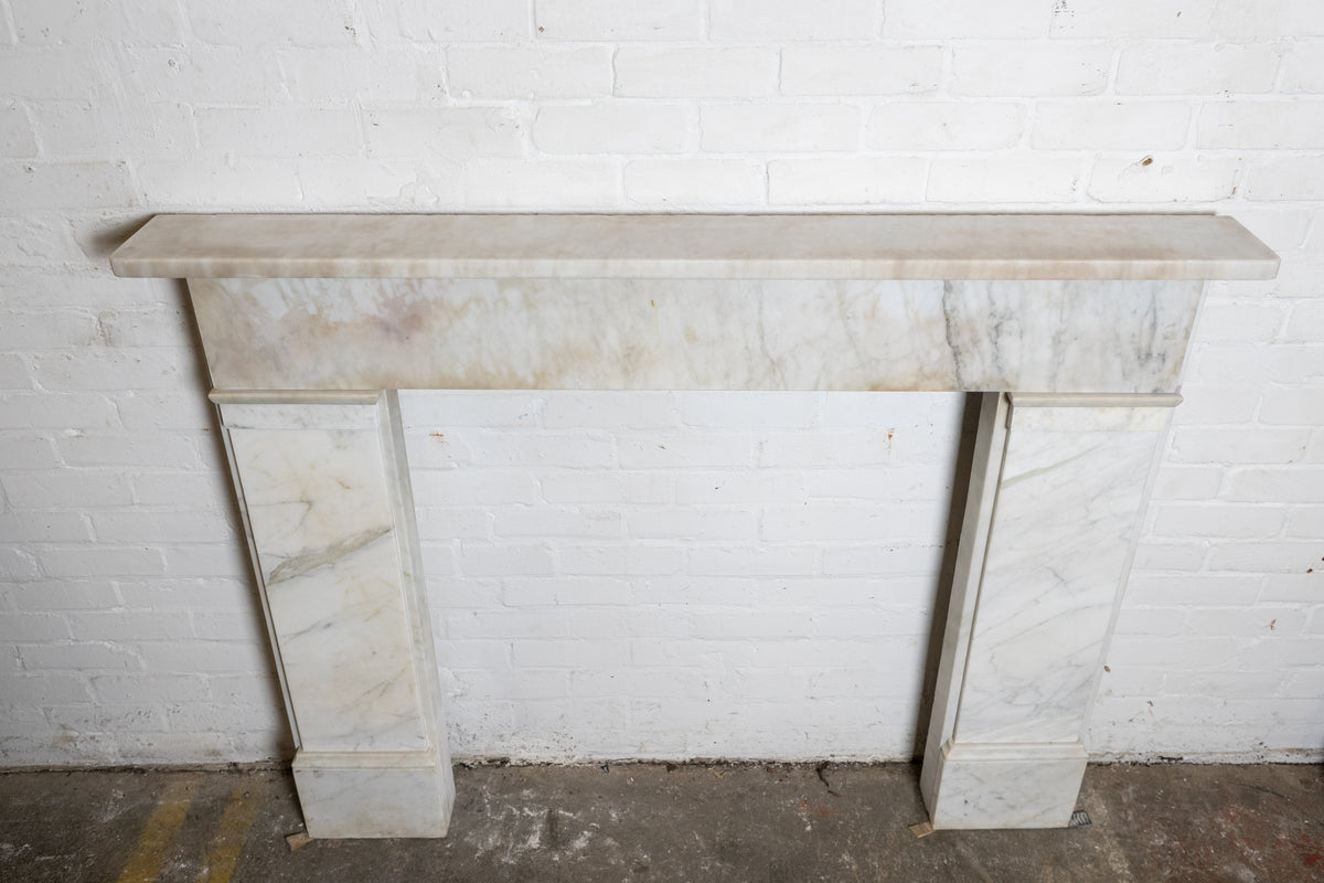 Antique Georgian Carrara Marble Chimneypiece | The Architectural Forum
