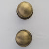 Pair of Reclaimed Brass Door Knobs