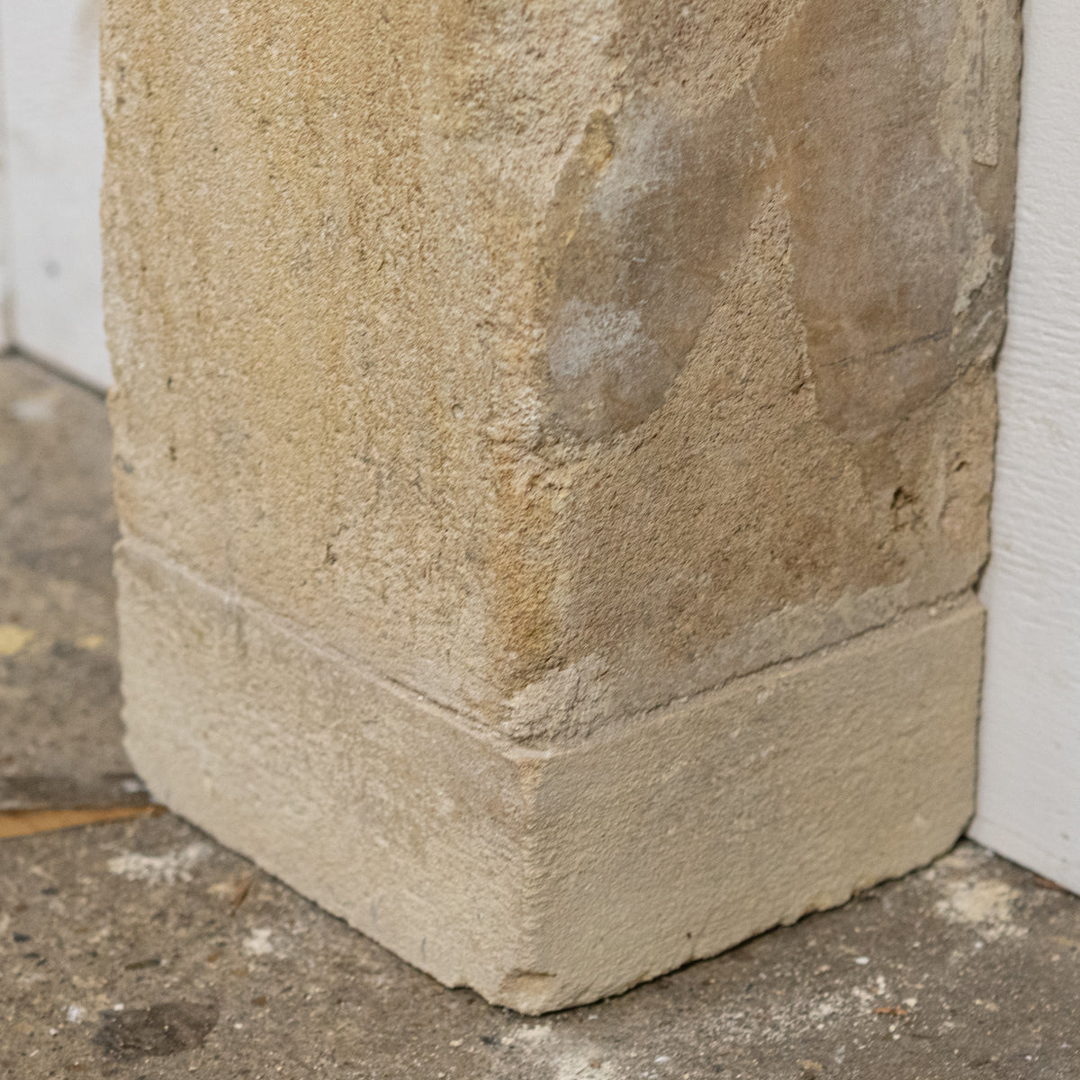 Antique Carved Stone Chimneypiece from King Edward VII Hospital London | The Architectural Forum