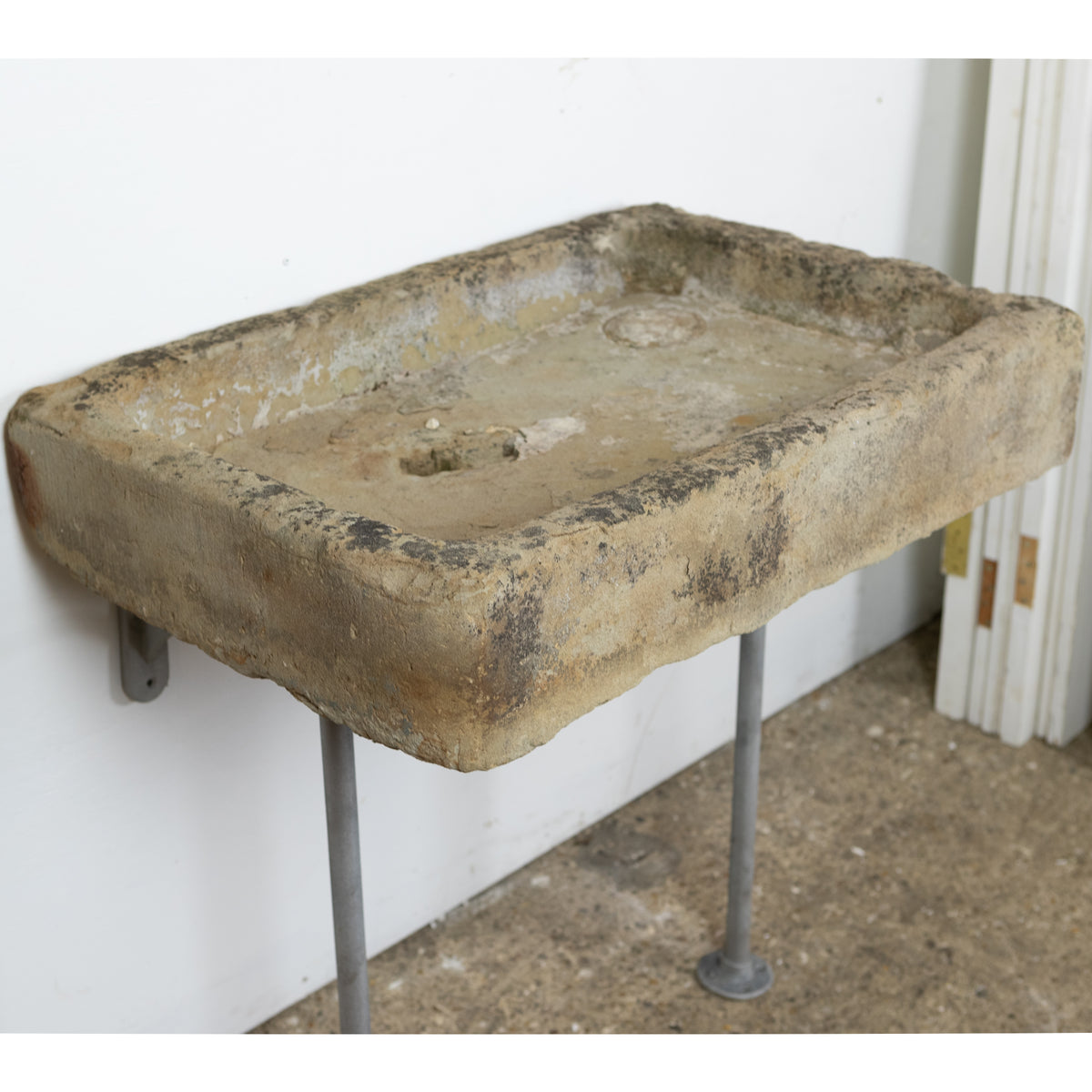 Antique Rustic York Stone Sink Basin | The Architectural Forum
